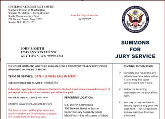When can i be called for jury duty